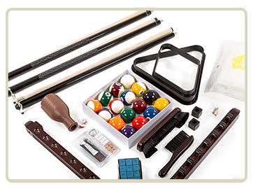 Pool Tables - Billiard table and accessories