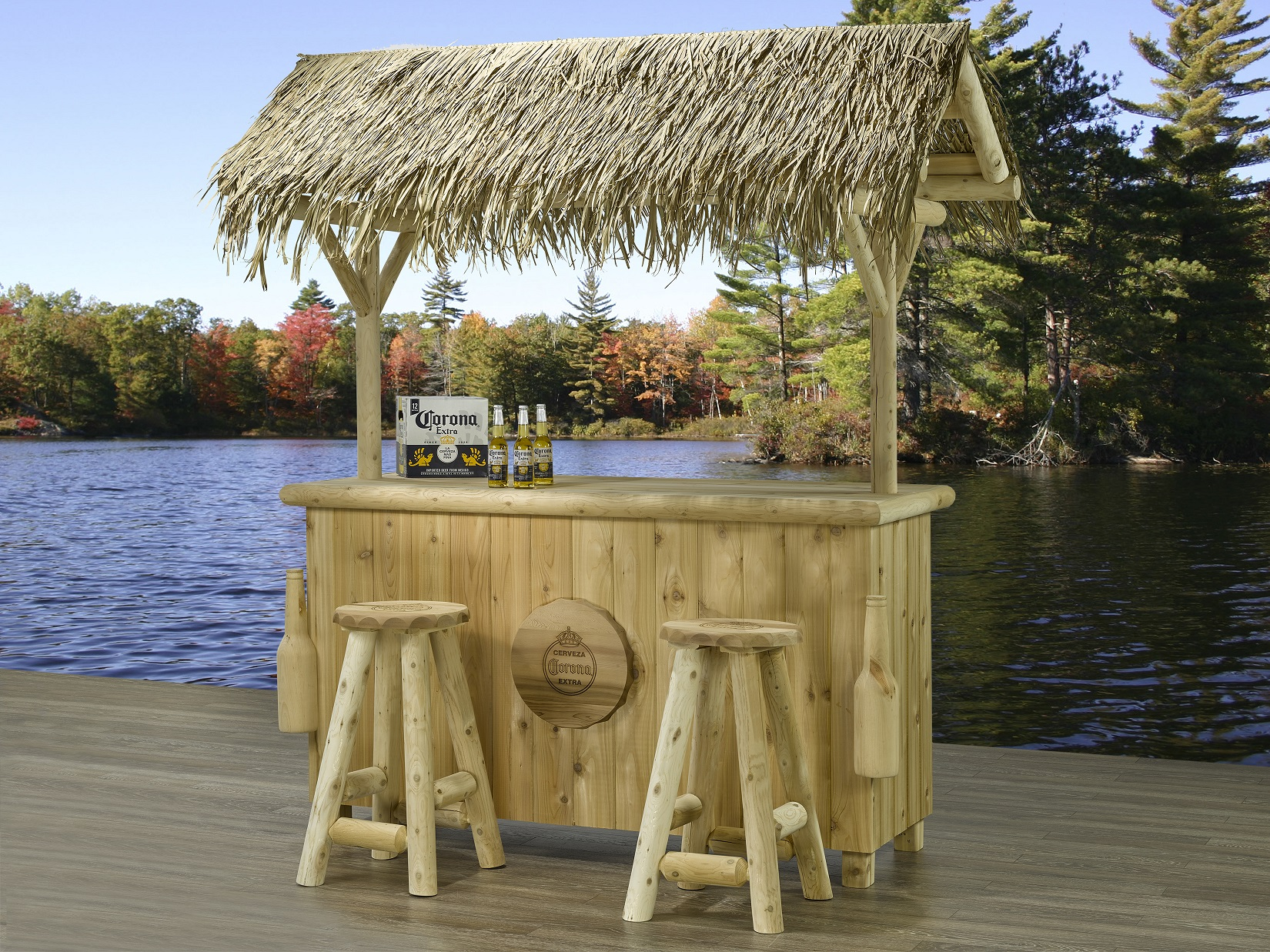 Corona Licensed Products Corona Outdoor Tiki Bar Set