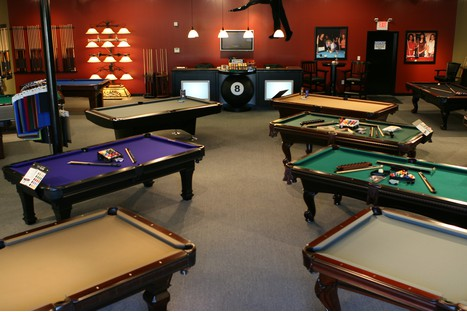 Retail Stores - Pool table retailers near me