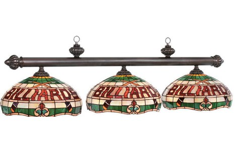 Billiards 3 lamp pool table light aloadofball Choice Image