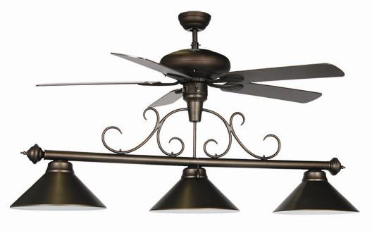 Ceiling Fan Pool Table Light