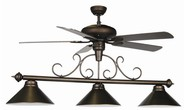 Review The Ceiling Fan Pool Table Light