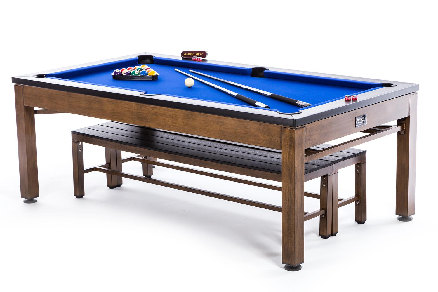 Spencer Marston Tucson Outdoor Pool Table | pooltables.com