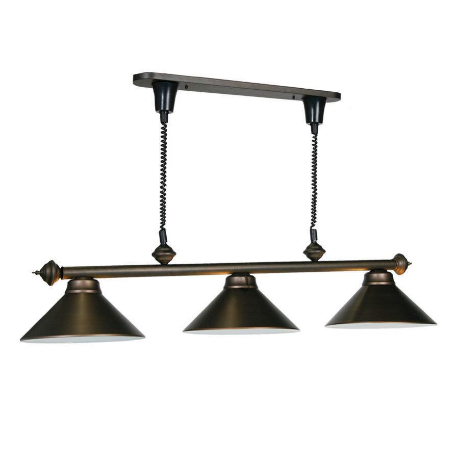 Pull Down Pool Table Light