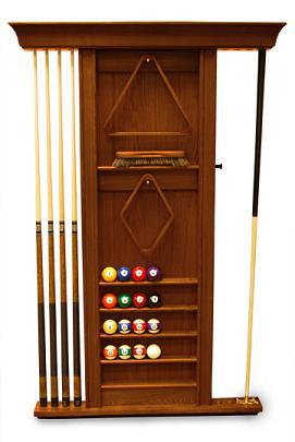 Spencer Marston Wall Pool Cue Rack Pooltables Com