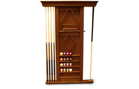 Spencer Marston Wall Pool Cue Rack