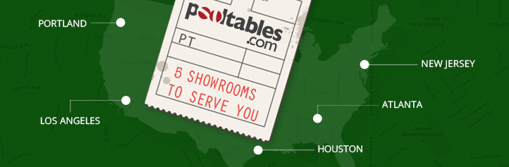 Visit a PoolTables.com Showroom