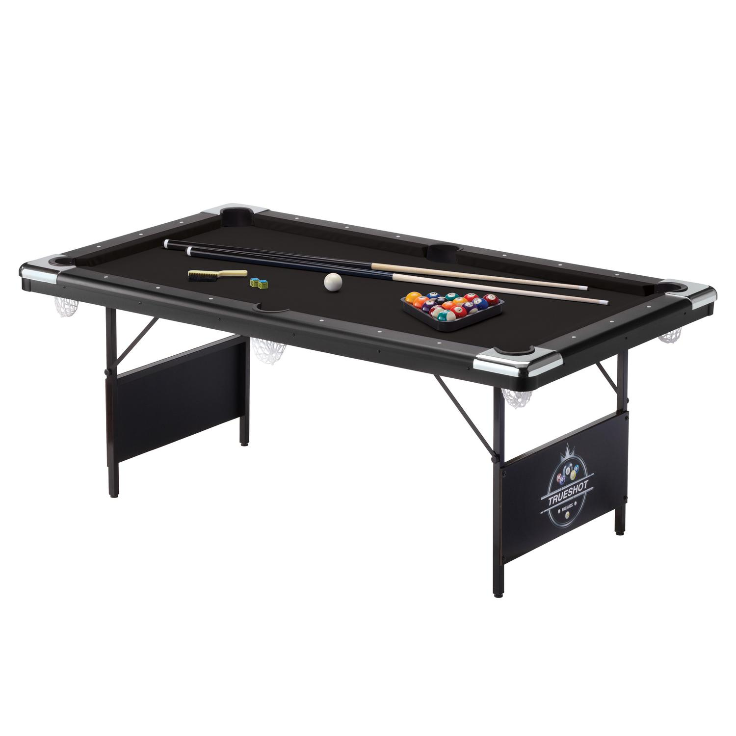 Fat Cat Trueshot Portable Pool Table Pooltables Com